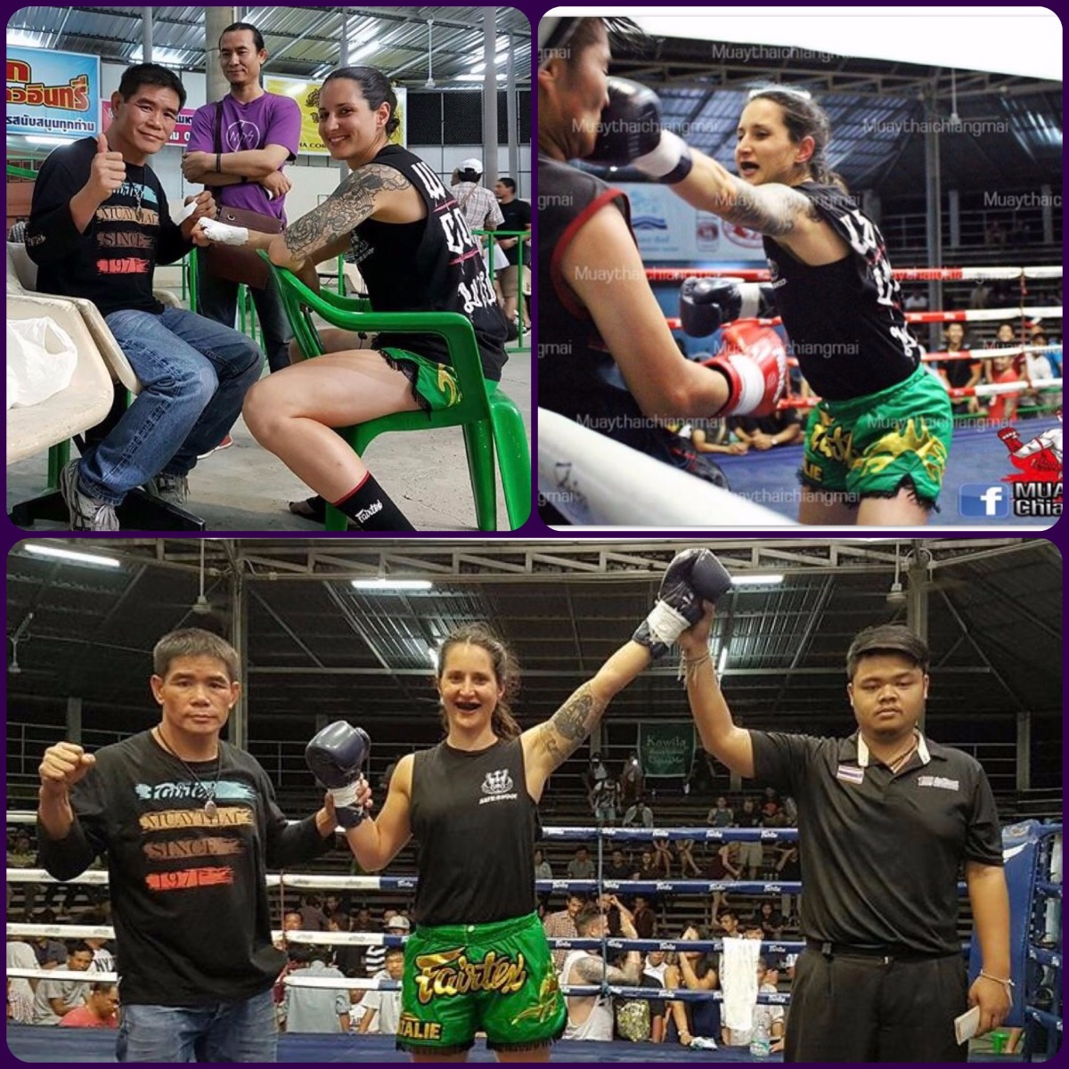 Natalie Morgan with Danchai Fairtex