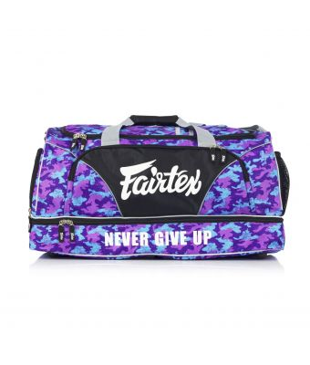 Fairtex Gym Bag-Purple/Camo