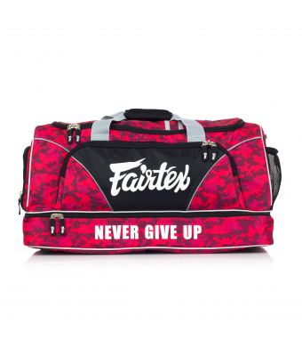 Fairtex Gym Bag-Red/Camo