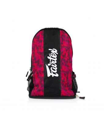 Fairtex Backpack-Red/Camo