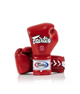 Pro Training Gloves Mexican Style-Red-10 oz.