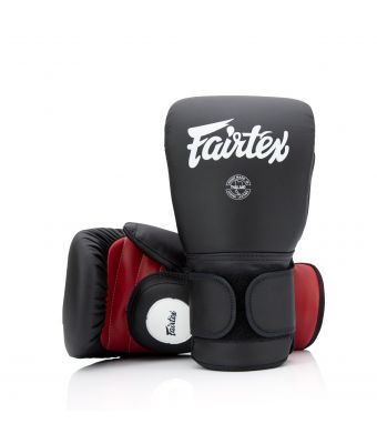 Coach Sparring Gloves-Black/Red