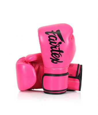 Microfiber Gloves-8 oz.-Pink/Black