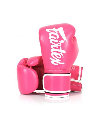 Microfiber Gloves-8 oz.-Pink/White