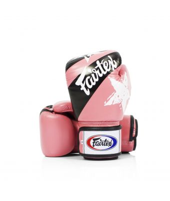 "Universal Gloves ""Tight-Fit"" Design-Nation Prints Collection-8 oz.-PINK"