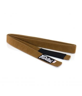 Fairtex BJJ Belt-Brown-A0