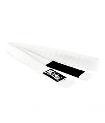 Fairtex BJJ Belt-White-A0