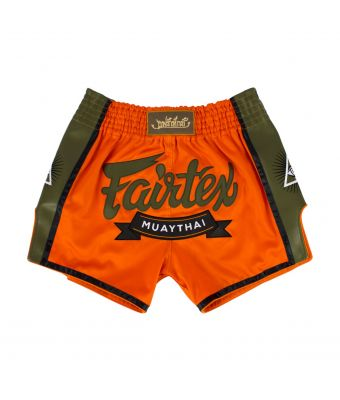 Muay Thai Shorts-BS1705-Orange-S