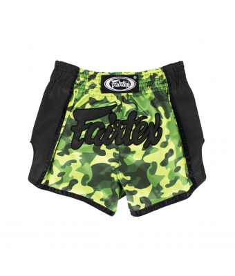 Muay Thai Shorts - BS1710 Green Camo