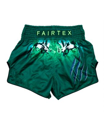 "Muay Thai Shorts - BS1913 ""TONNA""-Green-XS"