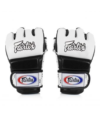 Super Sparring Gloves-White/Black-S