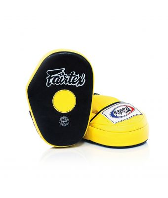 Classic Pro Mitts-Black/Yellow