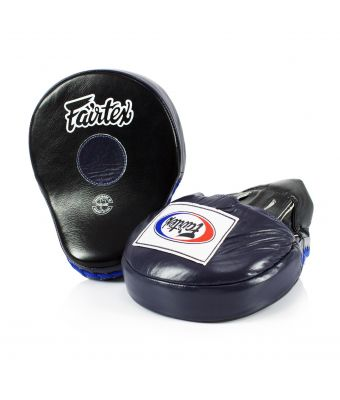 The Ultimate Contoured Focus Mitts-Black/Blue