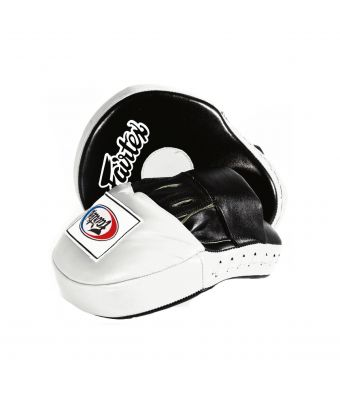The Ultimate Contoured Focus Mitts-Black/White