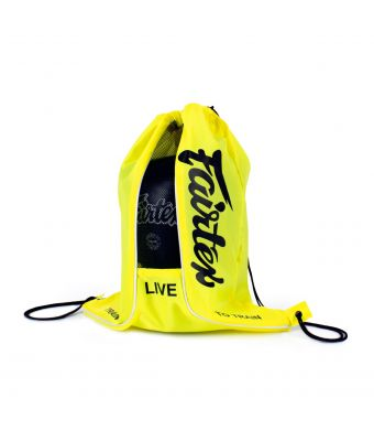 Fairtex Sach Bag-Yellow Neon