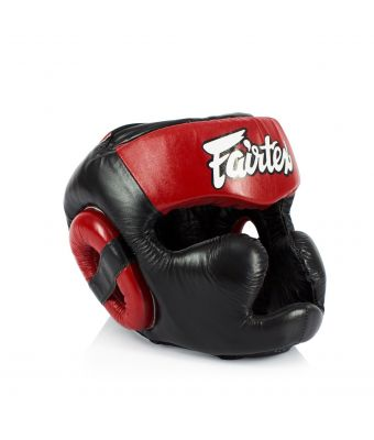 Diagonal Vision Sparring Headguard - Lace-Up Head