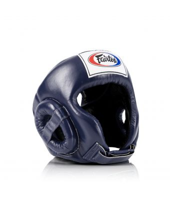 Muay Thai Competition Headguard-Blue-M