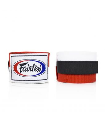 "Handwraps-180""-White/red"
