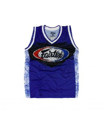 Fairtex Basketball Jersey - JS10-Blue-S