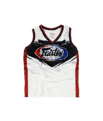 Fairtex Basketball Jersey - JS10-White-S