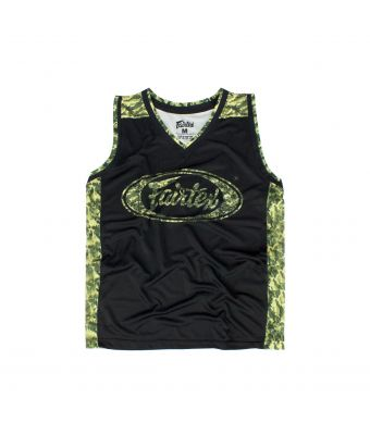 Fairtex Basketball Jersey - JS11-Black-S