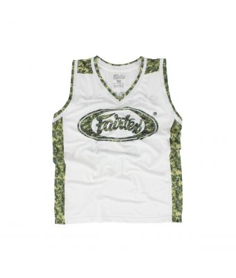 Fairtex Basketball Jersey - JS11-White-S
