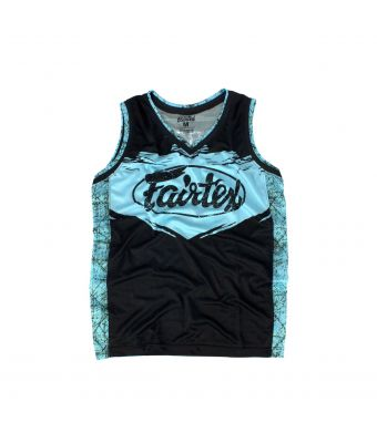 Fairtex Basketball Jersey - JS9-Light Blue-S