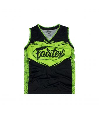 Fairtex Basketball Jersey - JS9-Green-S