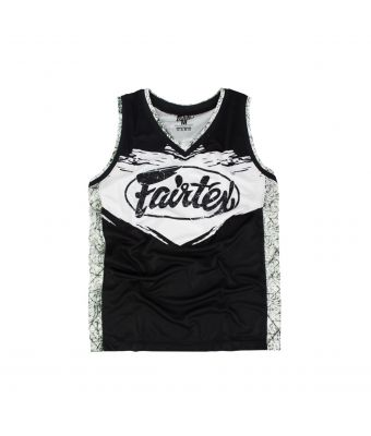 Fairtex Basketball Jersey - JS9-White-S