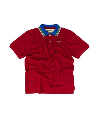 Fairtex Polo Shirt - PL12-Red-S