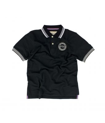 Fairtex Polo Shirt - PL15-Black-S