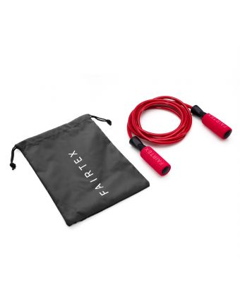 Ball Bearing Skipping Rope-Red