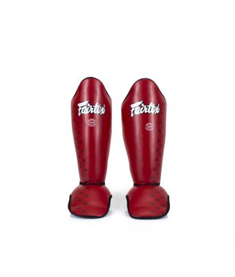 Competition Shin Pads-M-RED