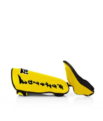 Twisted Shin Pads-Yellow-M