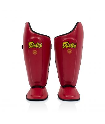 Ultimate Shin Pads-Red-S
