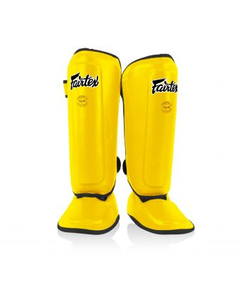 Shin Pads for Kids-Yellow-8-10Y