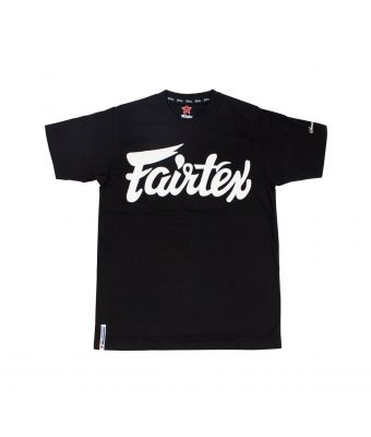 "Fairtex T-Shirt ""Fairtex Script""-Black-S"