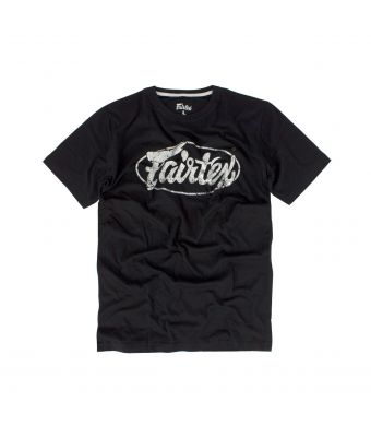 Fairtex T-Shirt - TST148-Black/Silver-S