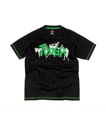 Fairtex T-Shirt - TST150-Black/Green-S