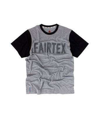 Fairtex T-Shirt - TST151-Gray/Black-S