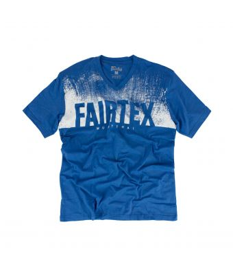 Fairtex T-Shirt - TST166-Blue-S