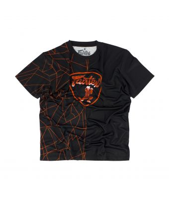 Fairtex T-Shirt - TST174-Black/Red-S