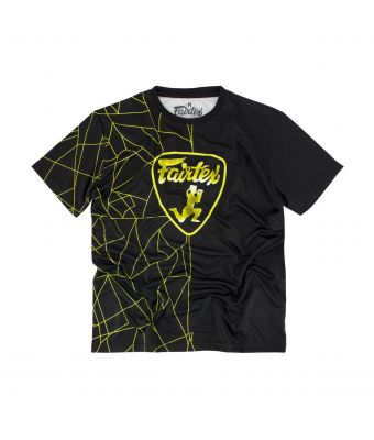Fairtex T-Shirt - TST174-Black/Yellow-S