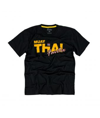 Fairtex T-Shirt - TST178-Black/Gold-XS