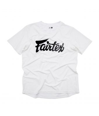Fairtex Signature Tee-White-S