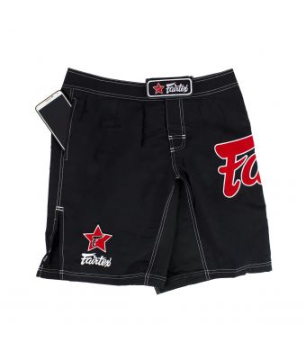 Board Shorts (with side pocket)-Black-S