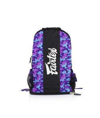 Fairtex Backpack-Purple/Camo