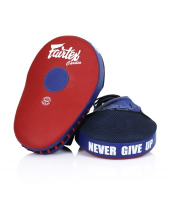 Maximized Focus Mitts-Red/Blue