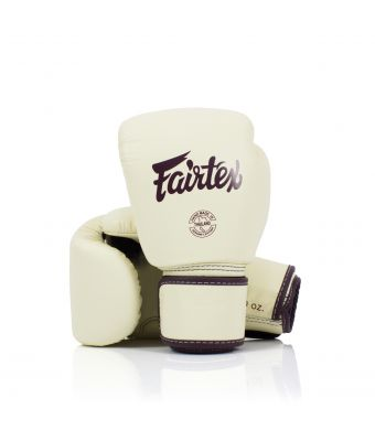 Real Leather Boxing Gloves-8 oz.-Khaki
