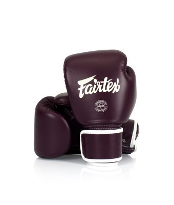 Real Leather Boxing Gloves-8 oz.-Maroon